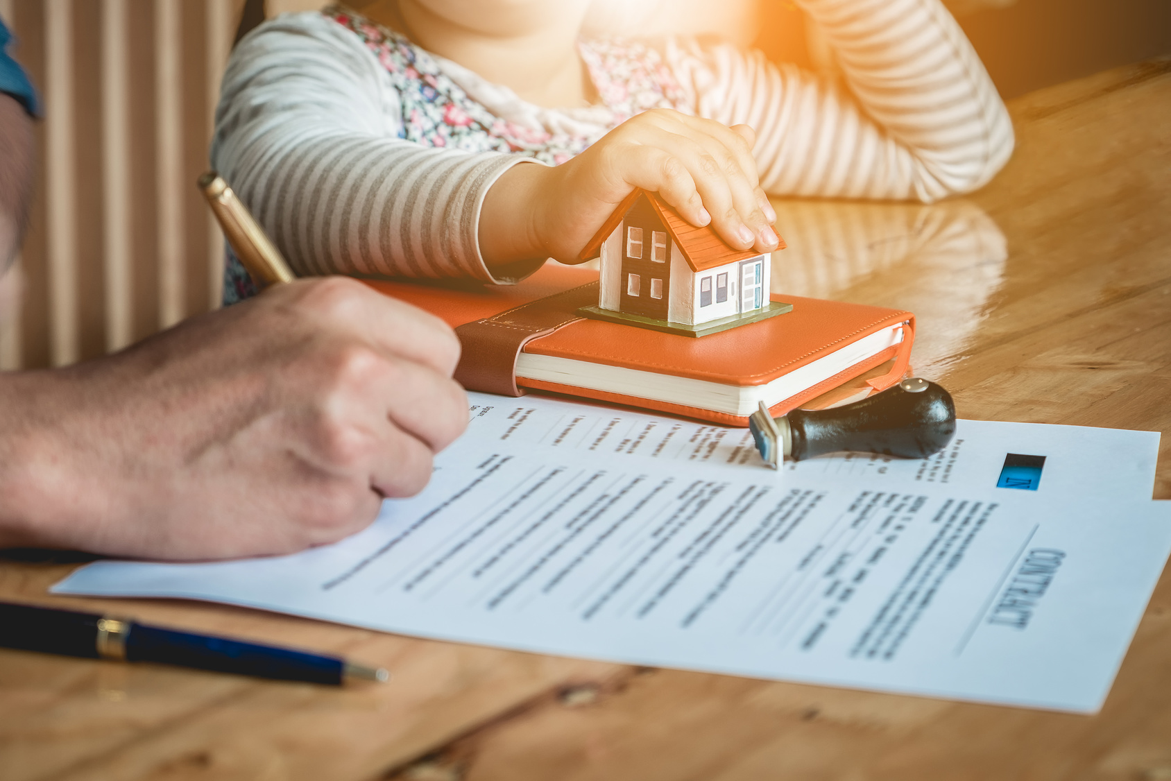 Signature d'un mandat exclusif immobilier