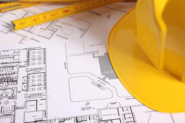 Les plans de maison d'un architecte