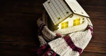 Maison bien au chaud en Hiver