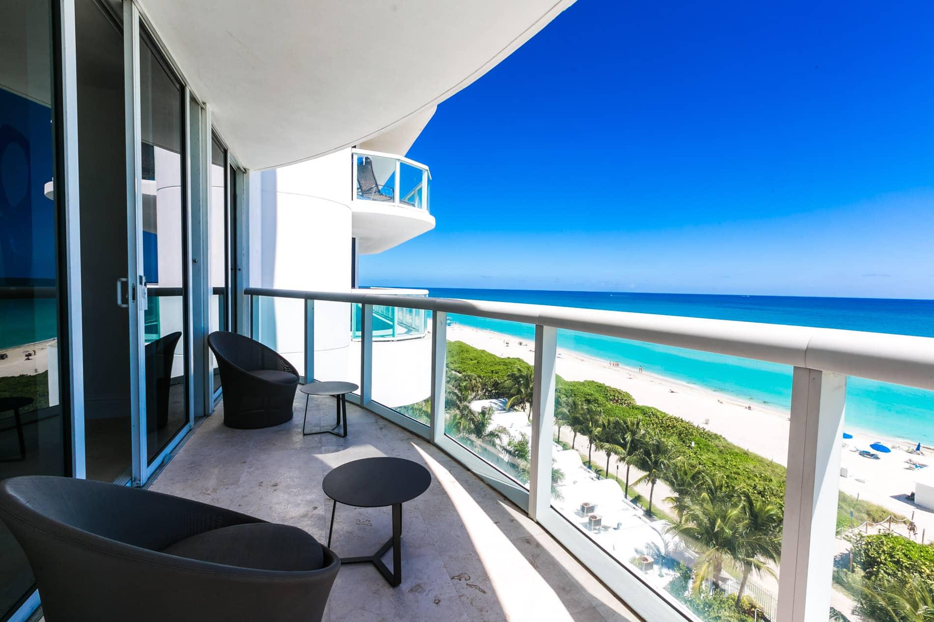 Un bien immobilier en bord d'océan de haut standing