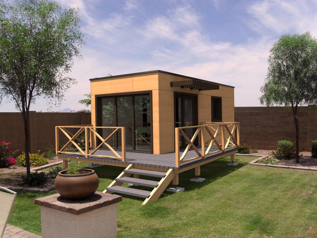 Présentation d'une maison modulable