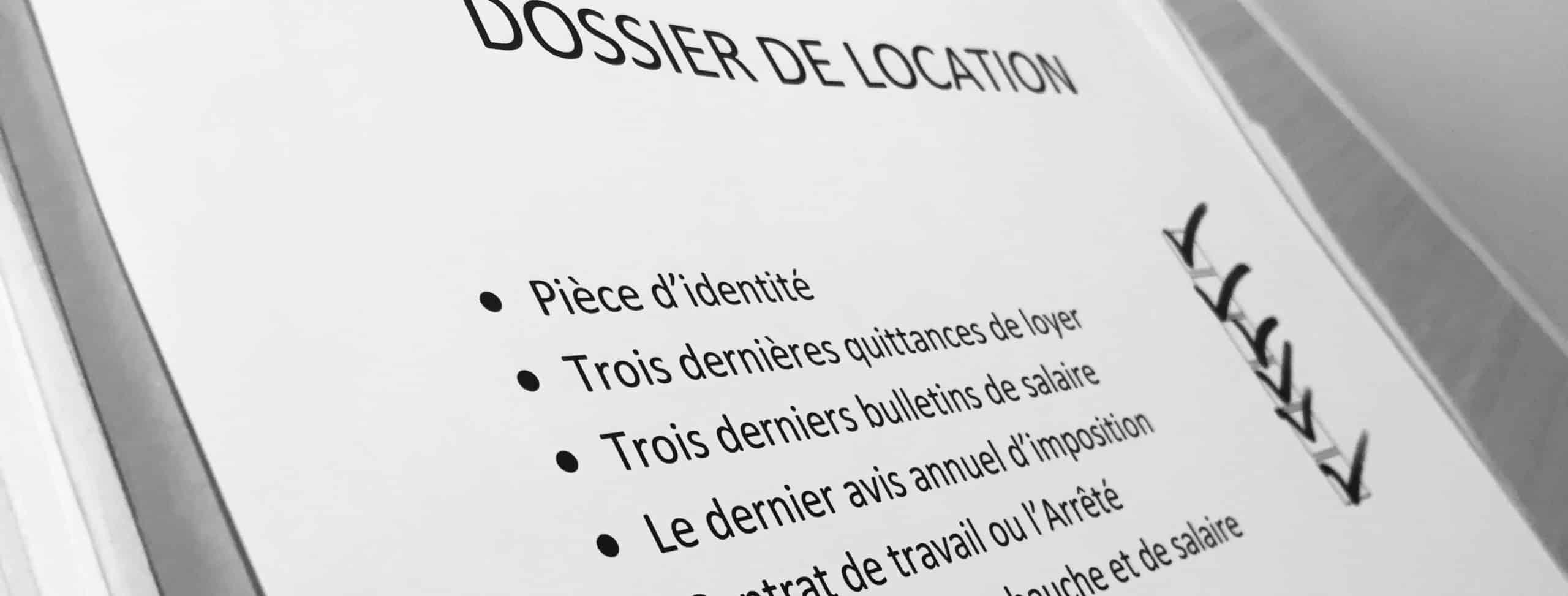 Finaliser son dossier pour trouver un appartement à Paris