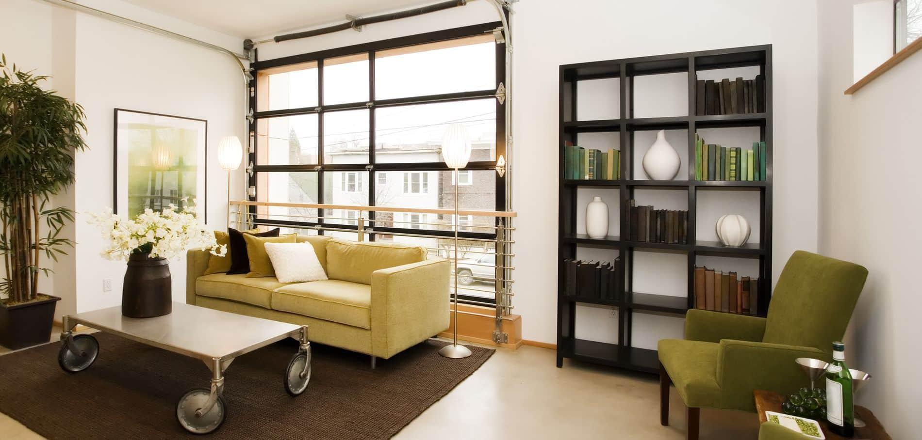 Un loft bien aménagé par un architecte