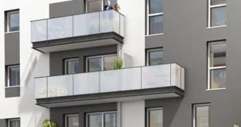 Un immeuble neuf à Nantes