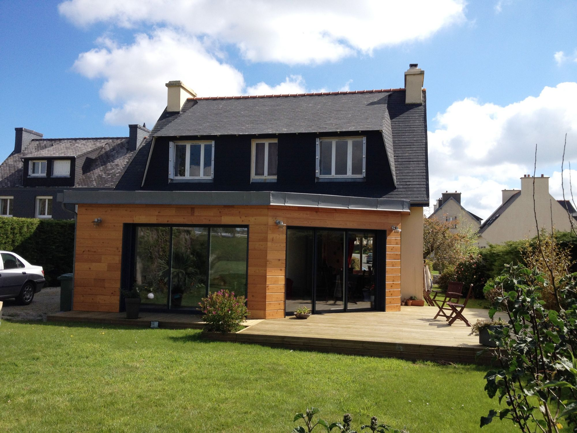 L extension de maison pour une mise en valeur optimale Aggrandissement maison