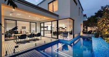 baie vitrée design