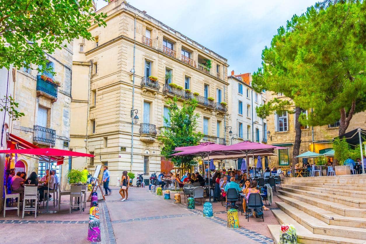 Un quartier de Montpellier