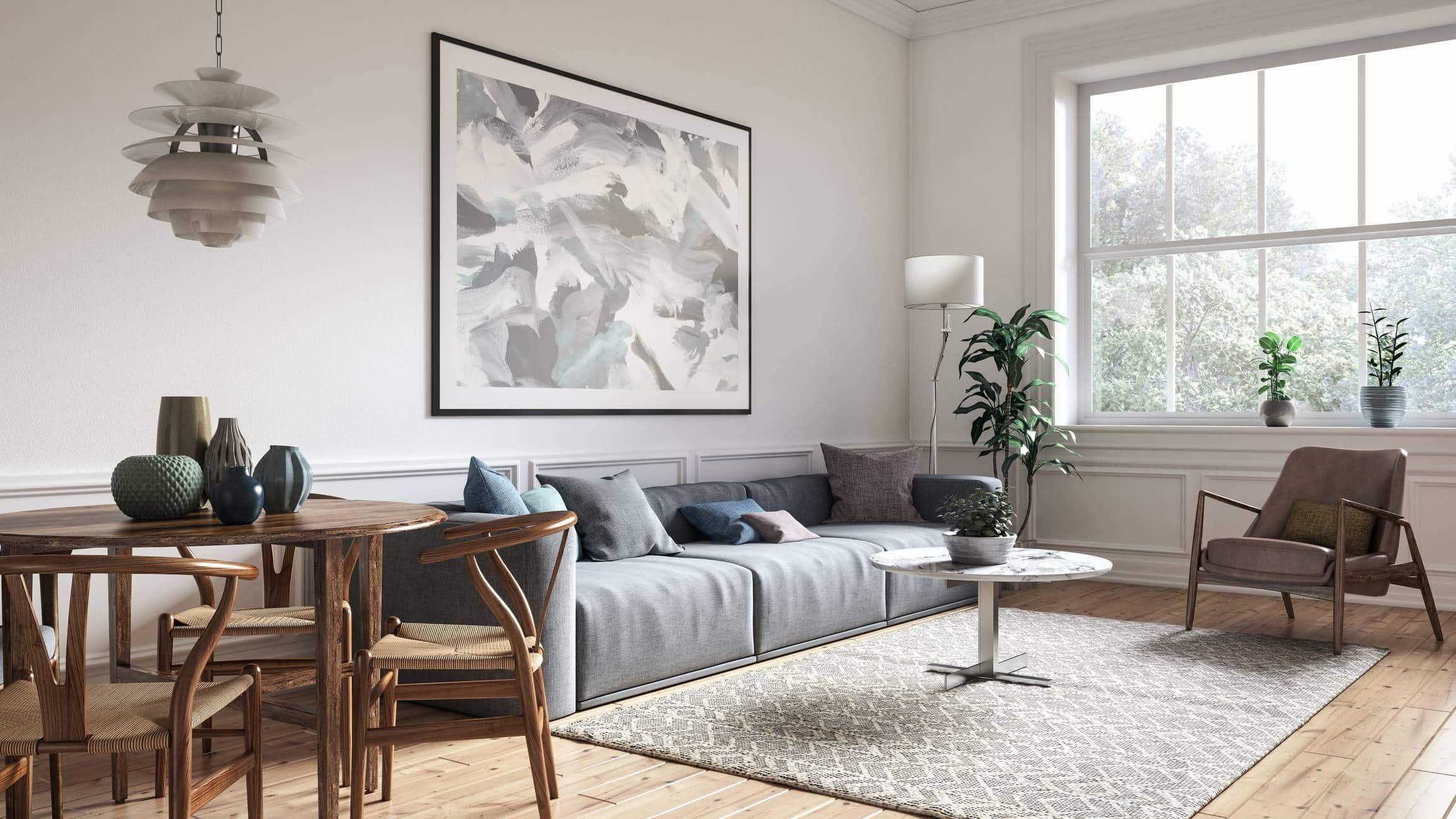 aménagement location meublée