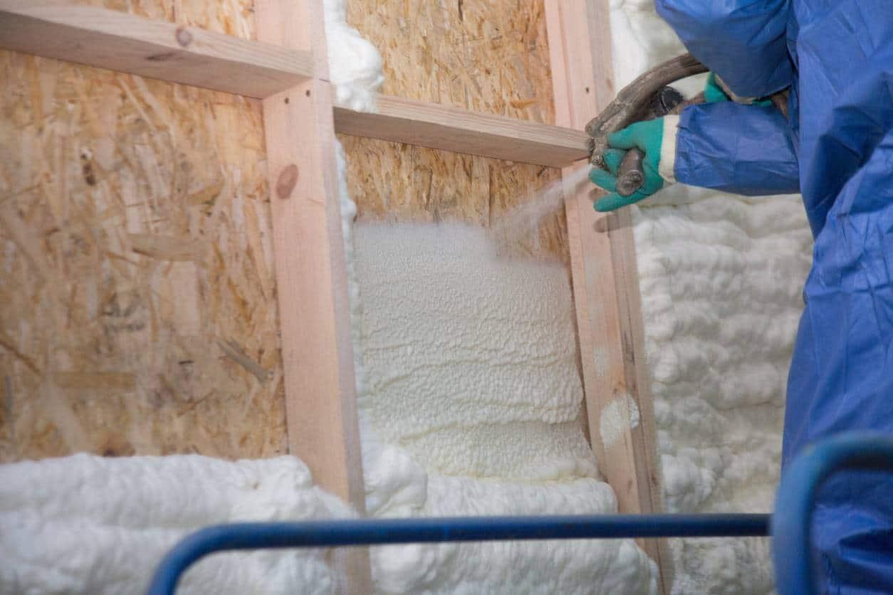 rénovation thermique travaux isolation projetée